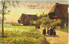 Papergreat Postcard Homes In Germany S Black Forest