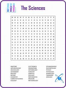 21 knowledgeable science word search baby