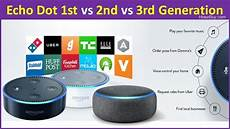Echo Dot 1st Vs 2nd Vs 3rd Generation What Is The
