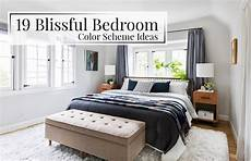 Bedroom Color Ideas For Wood Furniture by 19 Blissful Bedroom Color Scheme Ideas The Luxpad