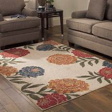 better homes and gardens floral berber area rugs or runner