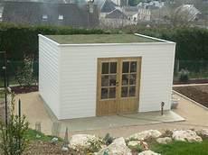 revetement toiture abris de jardin abri de jardin toit plat avec pergola