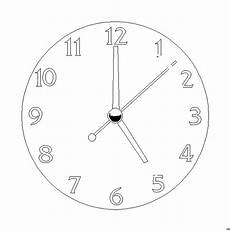 Malvorlagen Uhr Wattpad Wanduhr 2 Ausmalbild Malvorlage Sonstiges