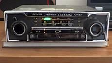 becker monza cassette kurier for mercedes r107