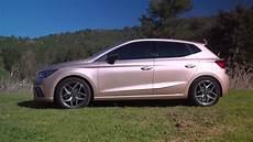 Seat Ibiza 2017 Mystic Magenta Driving Exterior