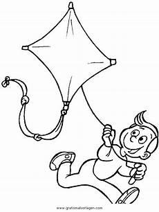 Ausmalbilder Drachen Steigen Lassen Drachensteigen 44 Gratis Malvorlage In Kinder Menschen