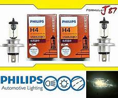 philips rally vision 9003 hb2 h4 100 90w two bulbs