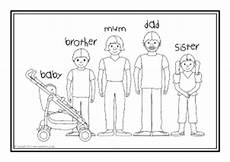 family coloring worksheets for kindergarten 12915 members of the family clipart black and white 20 free cliparts images on clipground 2020
