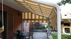 tende per terrazzo impermeabili tenda da sole modello a capanno tambone tende