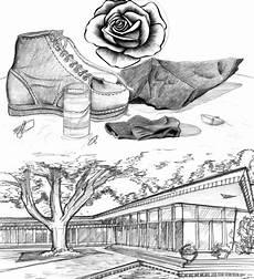 Teknik Cara Menggambar Ilustrasi Dan Bentuk Objek Gambar