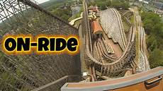 el toro frankenberg el toro on ride front seat hd six flags great adventure
