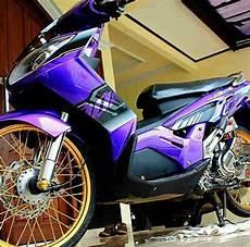Modifikasi Motor Nouvo by Modifikasi Motor Yamaha Nouvo Mothai Modif Kontes