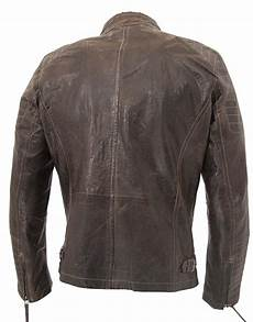gipsy by mauritius chan mens brown leather jacket 100