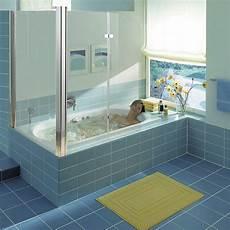 eck glas duschabtrennung badewannenaufsatz