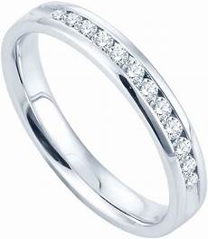 jcpenney fine jewelry 1 4 ct t w channel diamond band