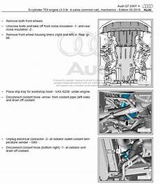 service and repair manuals 2007 audi q7 electronic audi q7 2005 2009 factory repair manual factory manual