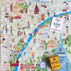 mondo bimbi pavia mappa di torino illustrata italy for ecococcole