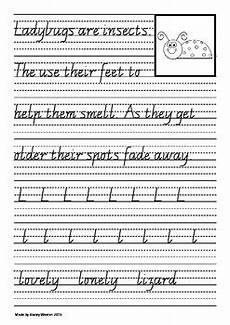 vic cursive handwriting worksheets 22079 handwriting for year 2 vic modern cursive script by stacey weston
