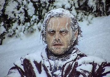 Image result for the shinning frozen man