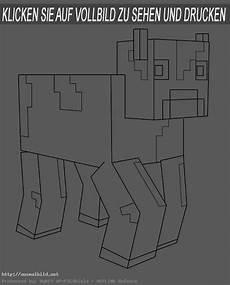 Ausmalbilder Minecraft Katze Minecraft 11 Ausmalbild
