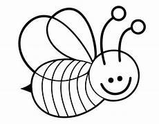 Ausmalbild Biene Zum Ausdrucken Ausmalbild Tiere Lustige Biene Kostenlos Ausdrucken