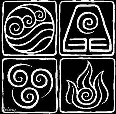 Yes These Are The Symbols For The 4 Elements From Avatar