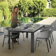 tavoli per esterni t tavolo in alluminio e gres 220x100 cm anche per