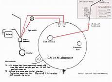 3 wire alternator wiring diagram alternator wire thickness