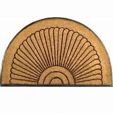 half coir doormat in doormats