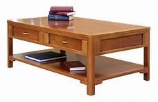 table basse de salon 2 tiroirs table basse en