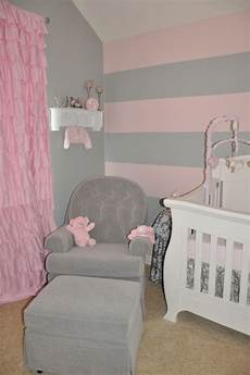 paint ideas for nursery walls peyton s pink and gray nursery pink striped walls