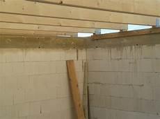 Gewindestange Mauerwerk Einkleben - unser bautagebuch dachbalken garage