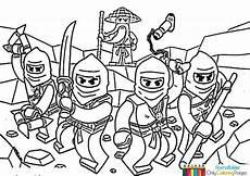 ninjago ausmalbilder zum ausdrucken kita