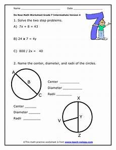 worksheets class 7 18804 do now math grade 7 intermediate version 4