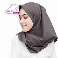 Jual Jilbab Segi Empat Instan Tanpa Peniti Hight Quality