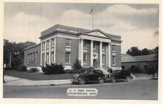 Office Depot Wilmington by Wilmington Ohio Post Office Antique Postcard J60361