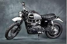 Modifikasi Scrambler by Motor Terong Gambar Modifikasi Motor Triumph Scrambler