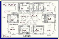 straw bale house plans courtyard strawbale structures eco house plans compound house