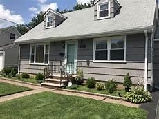 sherwin williams dovetail exterior and benjamin wythe blue door house paint exterior