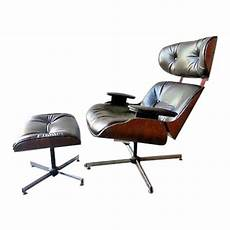 vintage original 60 s plycraft eames chair and ottoman
