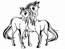 Pferde Ausmalbilder Malen Malvorlage Pferde Pferde Bilder Zum Ausmalen