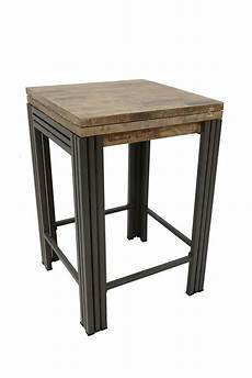 Table Bar Mange Debout Carr 233 E Extensible H 233 V 233 A Recycl 233