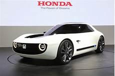 Honda Ev Concept Honda Sports Ev Concept Scores A Home Run In Tokyo