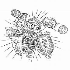 nexo knights ausmalbilder aaron lego nexo knights ridder aaron coloring pages for