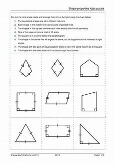 shapes worksheets ks4 1159 teachit maths ks3 geometry and measure resources 2d shapes identifying triangles and