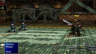 Image result for FF7 Modded Battle