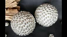 Kugel Basteln Mit Perlen Diy Wohndeko Zu Weihnachten