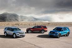 2020 ford car lineup 2020 ford explorer st and hybrid go fast or go far news