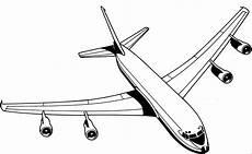 Ausmalbilder Flugzeuge Malvorlagen Flugzeug Vier Duesen Oben Ausmalbild Malvorlage Die