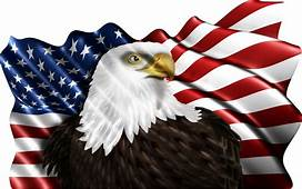 American Eagle Flag Sticker Symbol Of The Americans